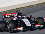 Grosjean tight lipped on Haas improvements