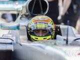 Gutierrez breaks Sonoma lap record twice in Mercedes W07 F1 car