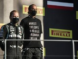 FIA bans t-shirts from F1 podium ceremonies after Hamilton demonstration
