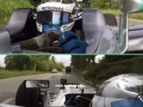 Video: Valtteri Bottas drives Mercedes F1 car on public roads in Italy