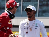 Hamilton not concerned about title fight, early Vettel deficit
