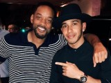 Will Smith congratulates Lewis Hamilton over team radio