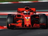 Vettel reveals that name of his 2018 Ferrari…