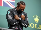 Hamilton feels 'weight' of 2020 events, broke down at news of Boseman's death