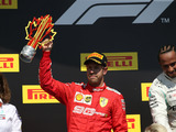 Vettel didn't step onto podium out of 'free will'