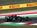 Lewis Hamilton takes pole position at the Tuscan Grand Prix