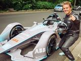 Video: Nico Rosberg takes the Gen2 Formula E car for a spin on the streets of Berlin