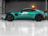 Aston Martin to supply Safety and Medical Cars to F1