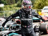 Hamilton smashes record with pole, Ferrari suffer
