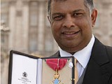 Fernandes receives CBE from the Queen