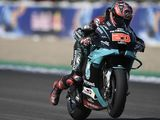 MotoGP: Quartararo secures pole, Marquez withdraws
