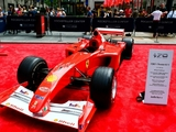 Schumacher's F2001 sells for record $7.5m