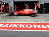 Kimi Raikkonen happy to start third after 'messy' qualifying