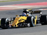 Renault and Haas's 2017 Formula 1 cars make track debuts