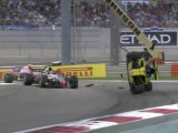Hulkenberg gets flipped turned upside down