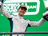 Russell embraces 'strange' first podium in '17th fastest car'