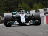 Hamilton takes Belgian GP pole as Force India locks out second row