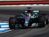 Hamilton leads Mercedes 1-2, Vettel crashes
