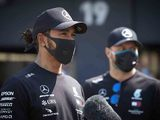 Hamilton in 'real shock' over Mercedes tyre troubles