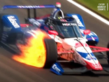 Brake master cylinder failure to blame for dramatic Indy 500 tyre fire