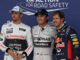 Rosberg takes pole as Hamilton falters
