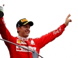 Vettel revels in home podium for Ferrari