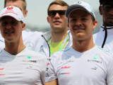 Schumacher's savage toilet 'mind games' revealed by Rosberg