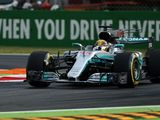 Hamilton quickest as Mercedes makes ominous start at Monza