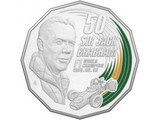 Jack Brabham honoured with coin