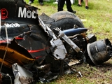 Alonso's Melbourne crash peaked at 45G