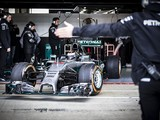 MotoGP champion Jorge Lorenzo tests Mercedes Formula 1 car