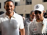 Lewis Hamilton helps Will Smith tick off bucket-list item in Abu Dhabi