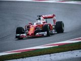 Rain reduces FP3 session, as Vettel tops the times