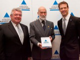 Wurz receives Prince Michael road safety award