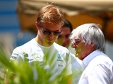 Ecclestone wouldn't put Rosberg amongst the greats