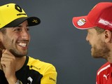 Ricciardo reckons Vettel has hunger to continue F1 career