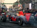 Lights, camera, action: F1 wows Tinseltown