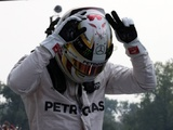 Hamilton proud to equal Senna and Fangio
