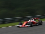 Fortunate Vettel shrugs off high-speed spin