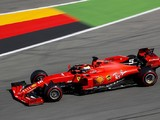 German GP: Vettel heads Ferrari one-two in FP1, late off for Bottas
