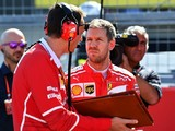 Sebastian Vettel one reprimand from penalty after Suzuka punishment