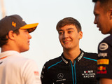 Russell 'a little bit jealous' seeing his mates in top F1 seats