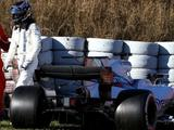 Williams to miss wet F1 test day after Lance Stroll crash