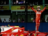 Vettel elated by Singapore pole effort