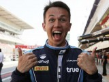 Albon focused on F2 title amidst F1 talks