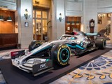 Mercedes reveals tweaked livery, five-year INEOS partnership