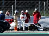 Charles Leclerc frustrated by 'stupid' mistake at F1 test