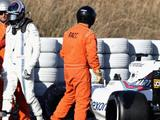 Williams forced to cancel F1 testing after crashes
