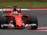 Vettel pleased to edge out Bottas for P2