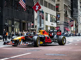 Red Bull's 2021 F1 car hits Wall Street and NYC landmarks